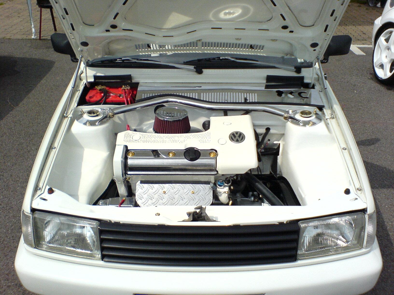 Motorraum Cleanen