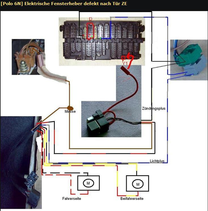 elektrische fensterheber in 4 t rer nachr sten. Black Bedroom Furniture Sets. Home Design Ideas