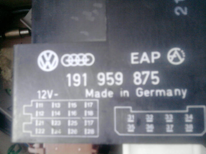 Schaltplan+Infos zum Original elektrische Fensterheber Steuergerät ...