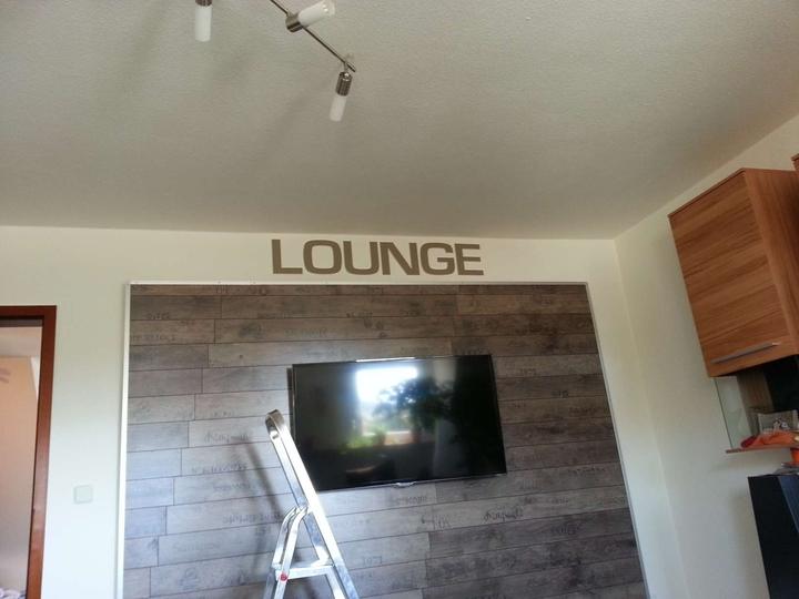 Tv wand wohnwand gebaut - Tv halterung selber bauen ...